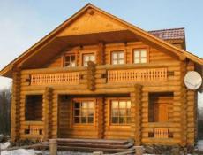 Стоимость дома из оцилиндрованного бревна.