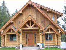 Строительство дома из бревна ручной рубки